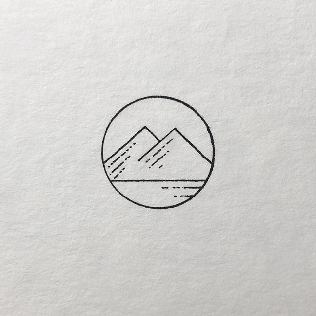 Would love to tattoo you on these minimalist mountains … What do you think? Hav … – #