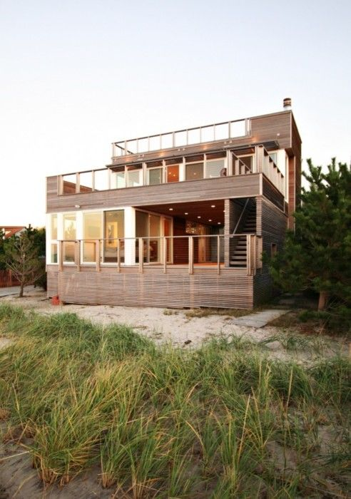 Modern Beach House These Four Walls Pinterest Roof Deck - Spend-hot-summers-and-views-in-a-beach-house-designed-by-parsonson-architects