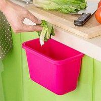 Box Desktop Doors Hang Trash Kitchen Cabinet Garbage Baskets…