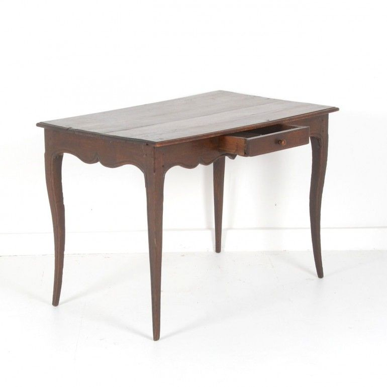 Antique French Writing Desk As Kitchen Island.