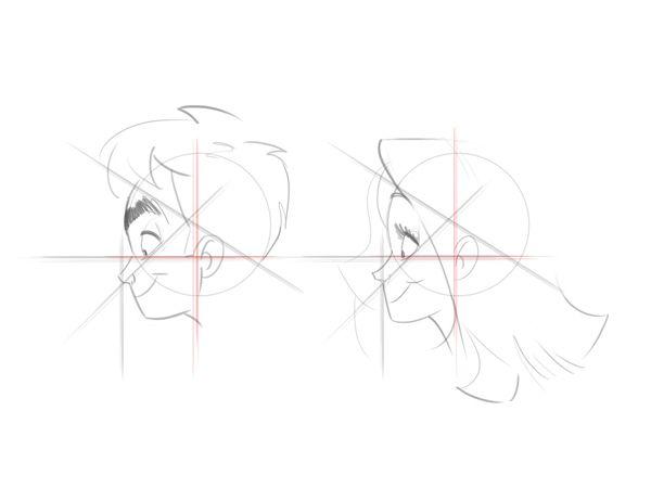 Cartoon Fundamentals: How to Draw a Cartoon Face Correctly   Vectortuts+
