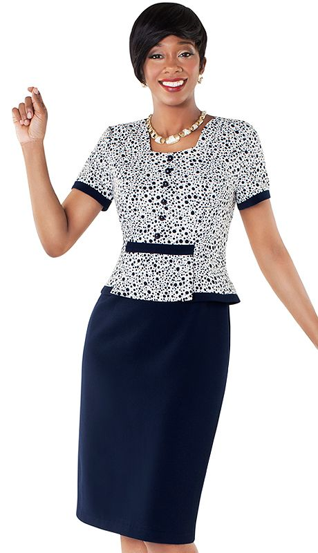 Tally Taylor 9418 Nm 1pc Polka Dot Print Dress With Multi Layer