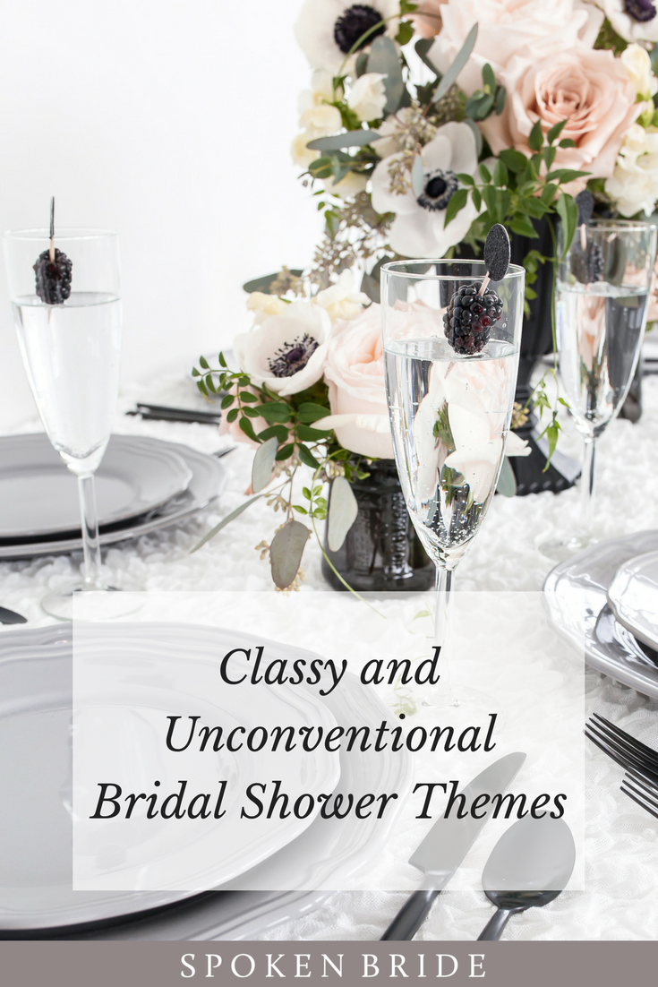 Classy and Unconventional Bridal Shower Themes | Unique bridal ...