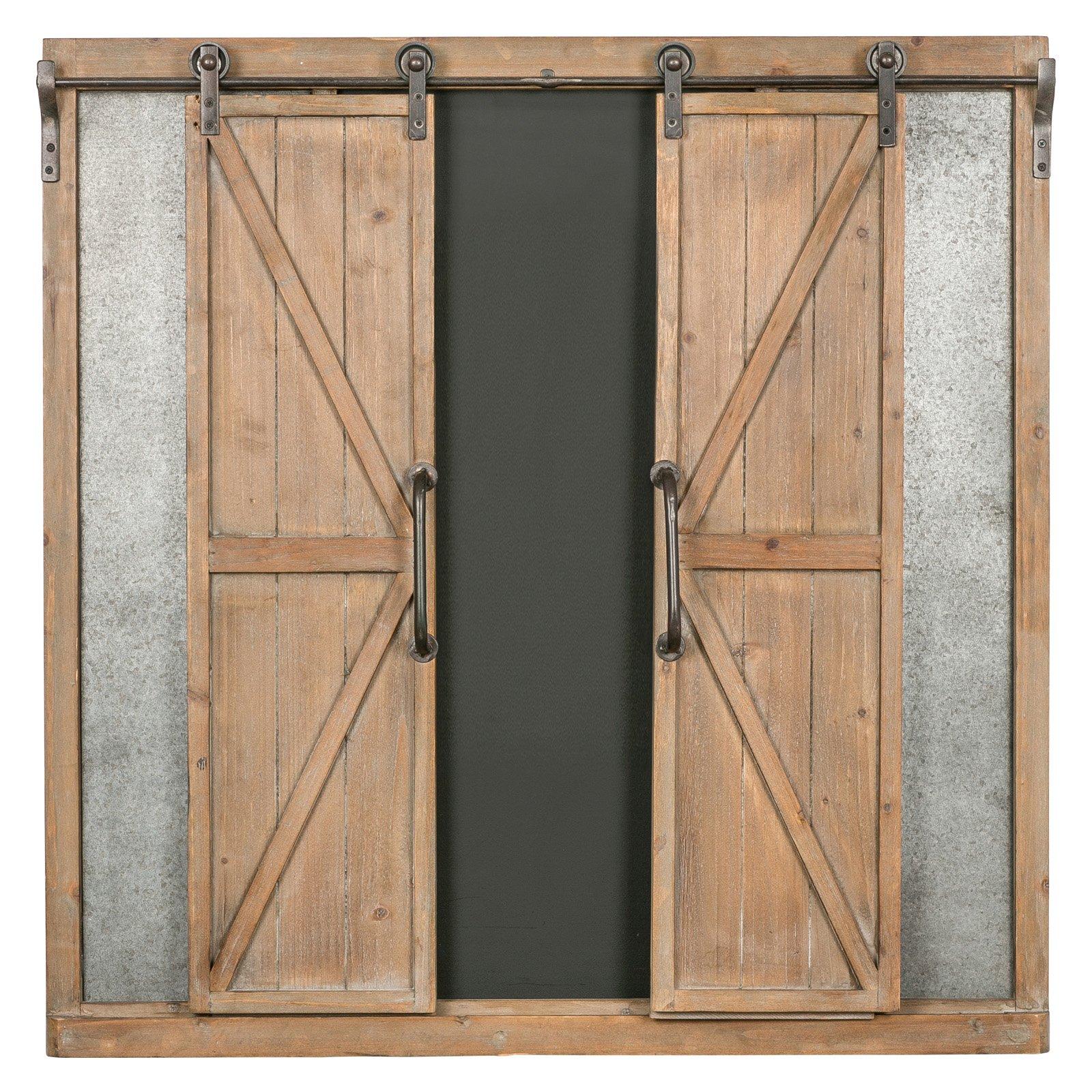 Cooper Classics Devon Chalkboard With Sliding Doors In 2020 Barn