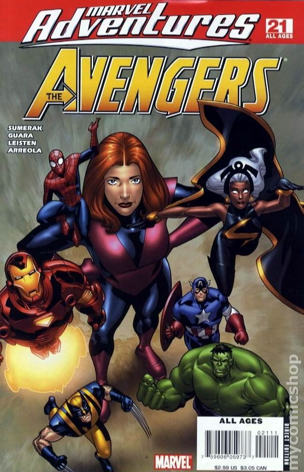 Marvel Adventures Avengers (2006) 21
