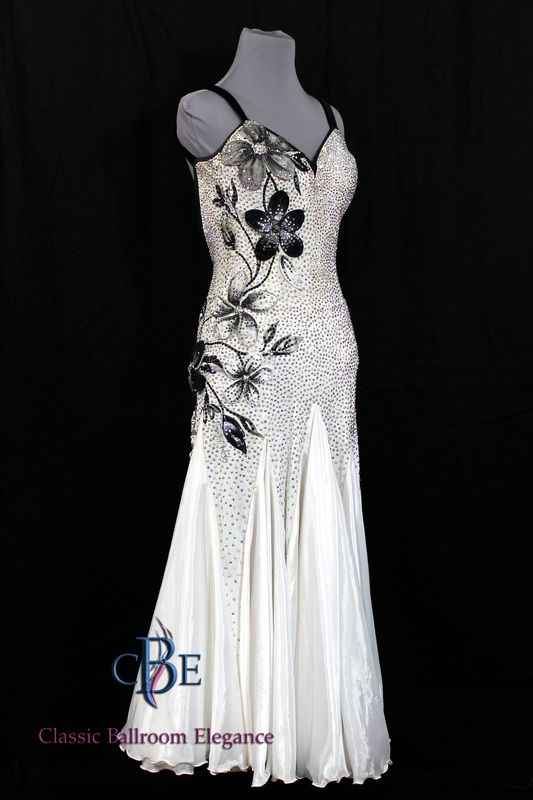 14eca1f4f403 Smooth Ballroom Dance Dress for Rent. Available from Classic Ballroom  Elegance at www.cberentals.com