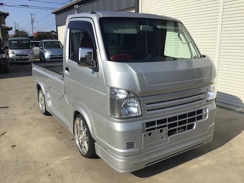 茨城県鹿嶋市よりキャリィトラック翔プロデュースエアロ塗装取り付け
