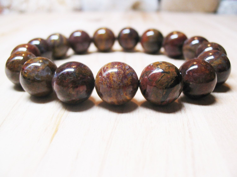 Pietersite Bracelet Energy Healing Protection Spiritual Root Chakra