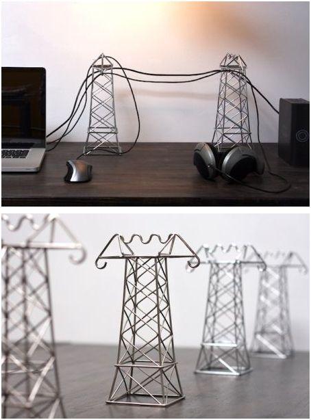Power lines holders
