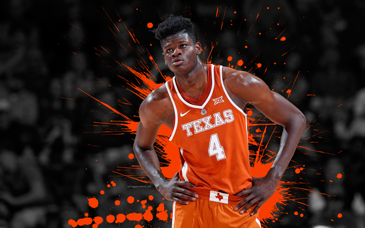 Download wallpapers Mohamed Bamba, 4k, basketball players