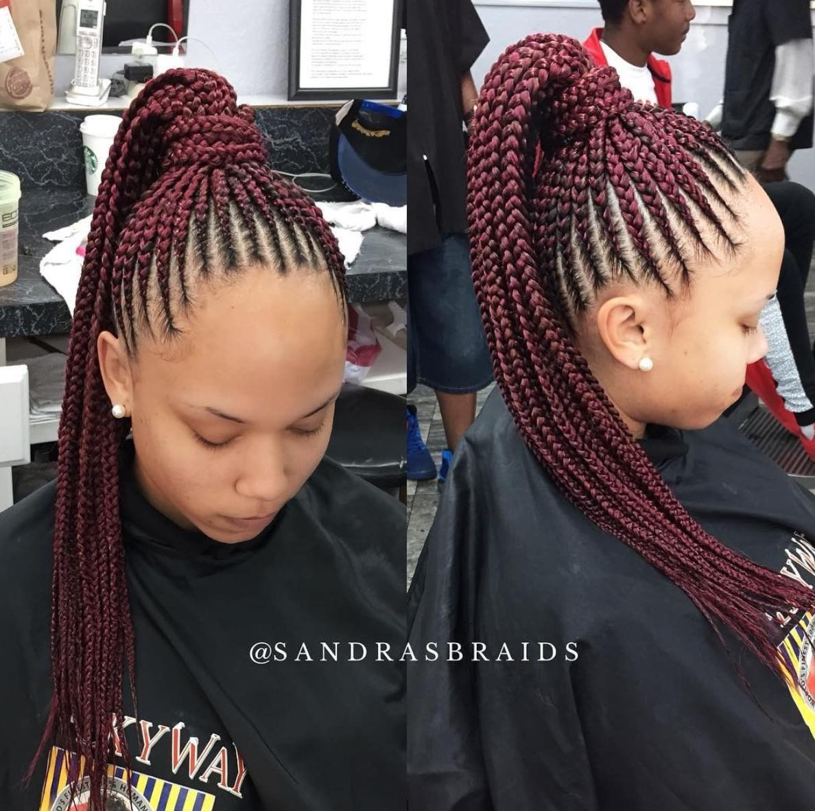 Nice braids by @sandrasbraids - https ...
