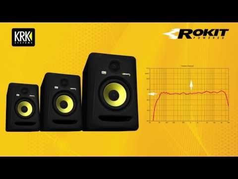 krk rokit 8 rp8 g3 8 inch powered studio monitor pssl azador in 2019 monitor speakers. Black Bedroom Furniture Sets. Home Design Ideas