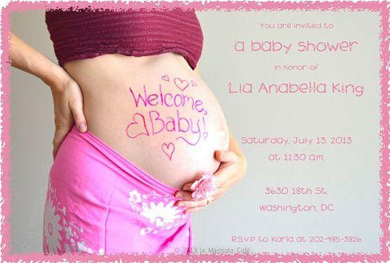 Custom baby shower invitations by la Marmota Café by laMarmotaCafe, $10.00