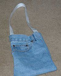 5954530b91 Denim Pocket Purse