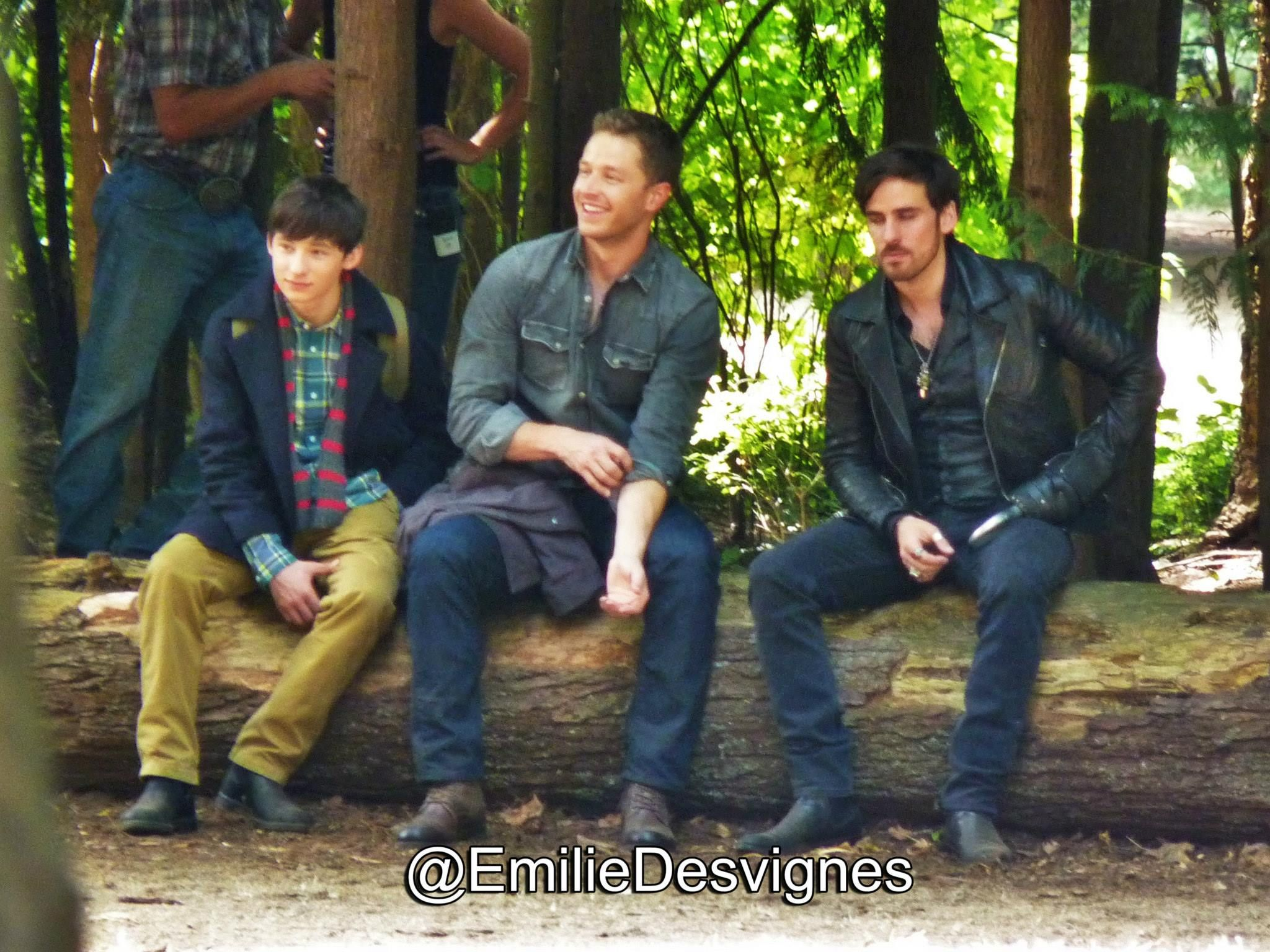 "Jared, Josh and Colin - Behind the scenes - 5 * 1 ""Dark Swan"" - 14 July 2015"