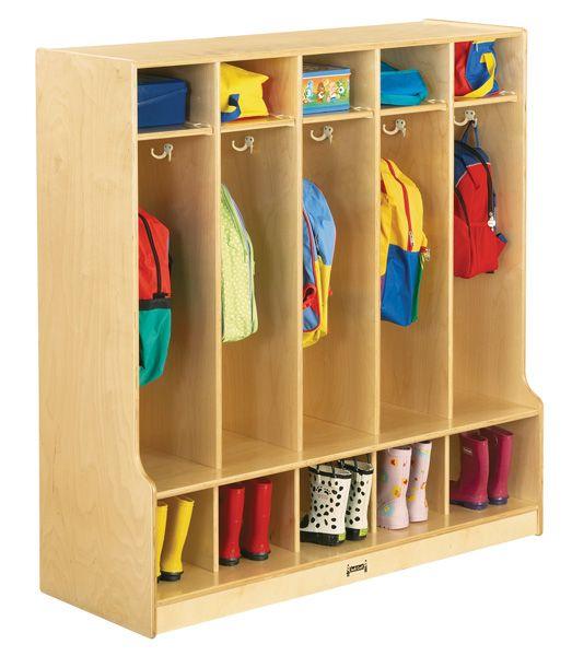 Coat Locker Wood Lockers And Preschool At Daycare Furniture Direct