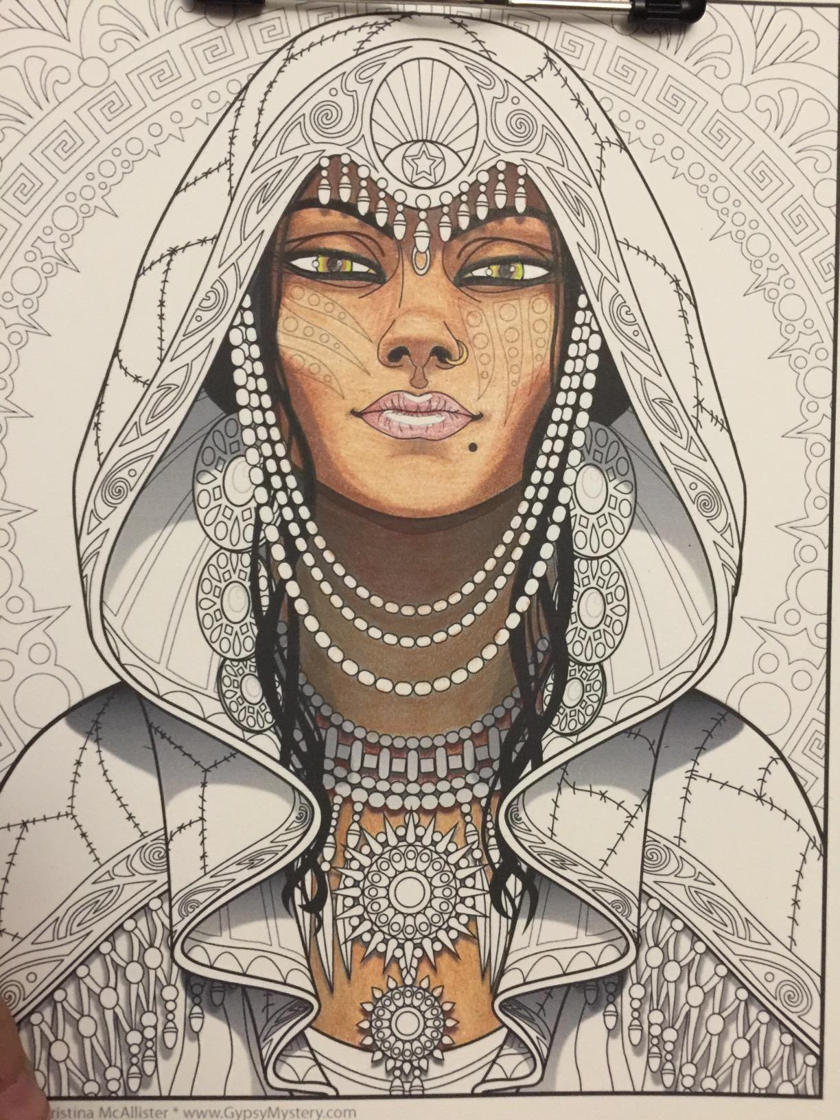 Amazon.com: Magical Beauties: A Captivating Coloring Book (9781539038535): Cristina McAllister