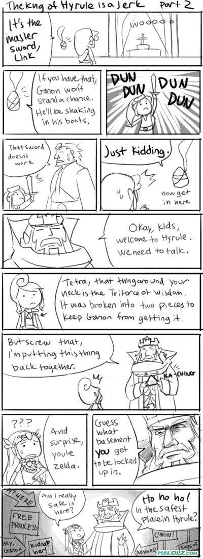 The King of Hyrule is a Jerk! Part 2