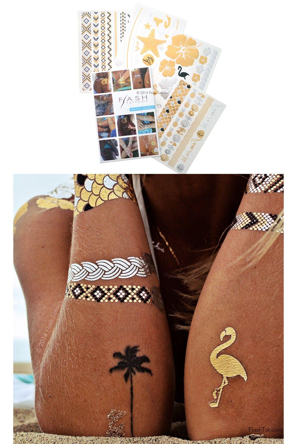 Bij www.miss-p.nl. Flash tattoo een geweldige accessoire die je MOET hebben deze zomer!