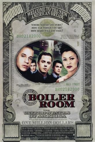 Poster: Boiler Room, 40x27in.