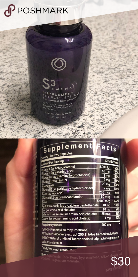 53 Monat S3 Hair Supplement Capsules Hair Supplements Capsule Biotin