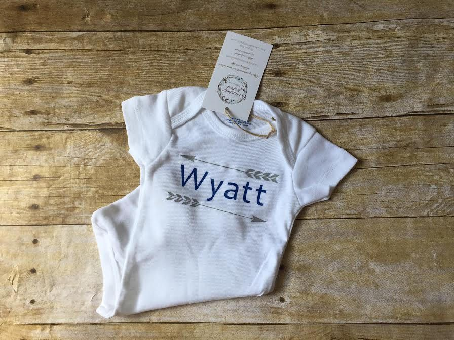 Personalized baby shirt baby boy name shirt one piece baby boy personalized baby shirt baby boy name shirt one piece baby boy outfit cute personalized baby giftsunique negle Image collections