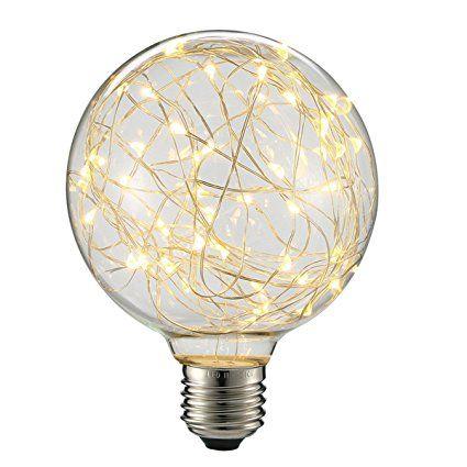 Kingso E27 3w Globe Edison Lampe G95 Ac85 265v Ampoule Led Vintage
