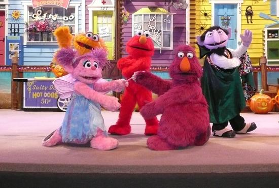 SeaWorld Halloween Spooktacular Sesame Street's Countdown to Halloween