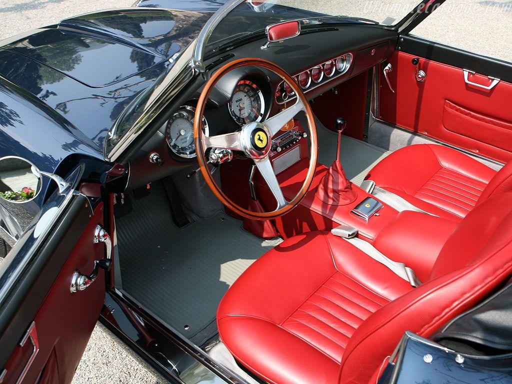 61 Ferrari 250 Gt Swb California Spyder User Interface Ferrari