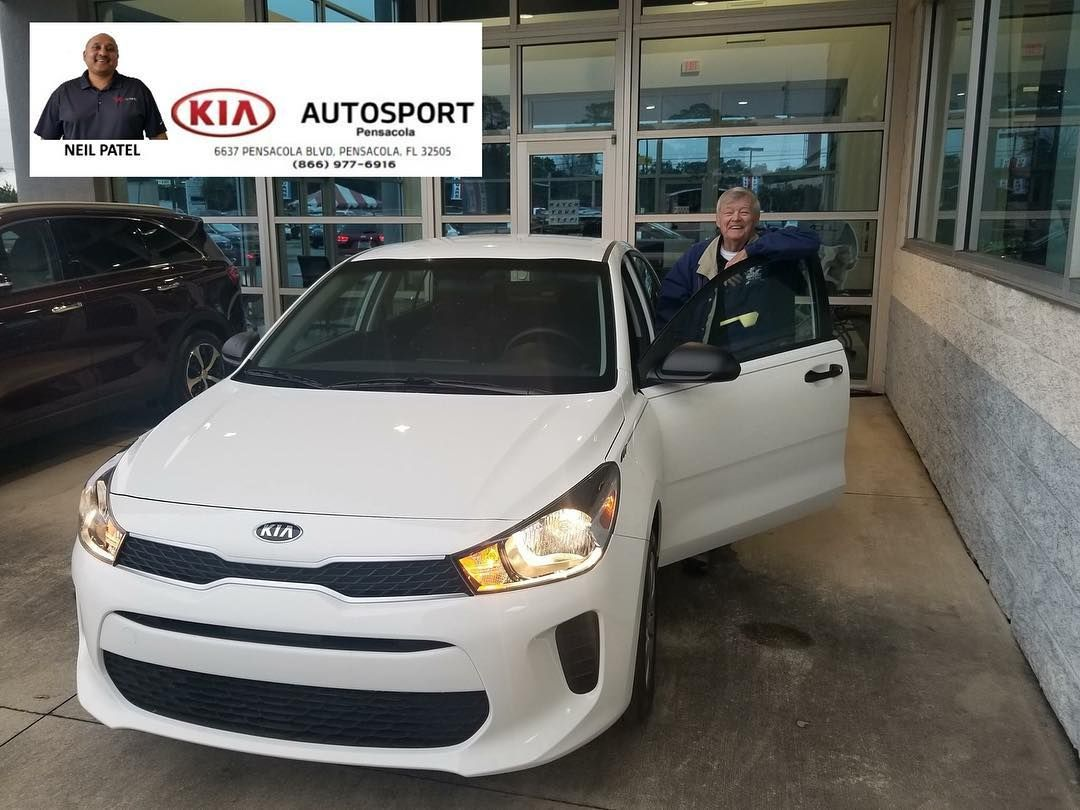 Neil Patel And KIA AutoSport Of Pensacola Would Like To Congratulate Mr.  James Rhodes On