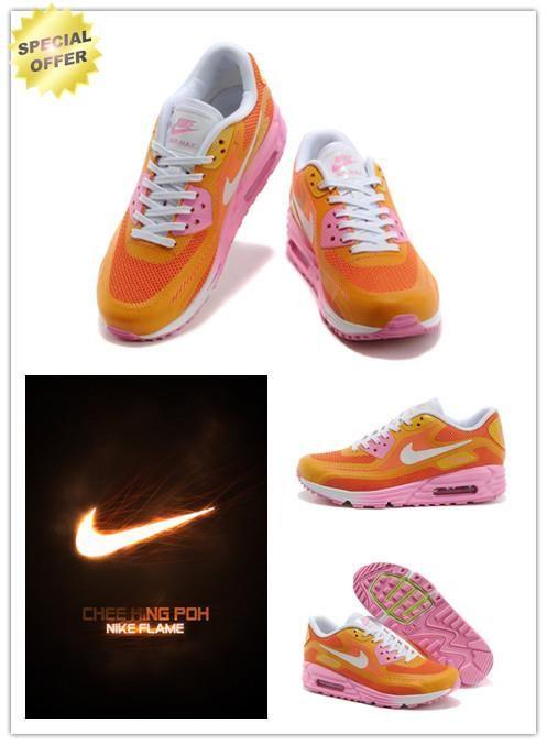 online store 58a84 b821a Where Can I Buy Cheap Summit White Orange Yellow Light Pink 631762-013 Nike  Air Max Lunar90