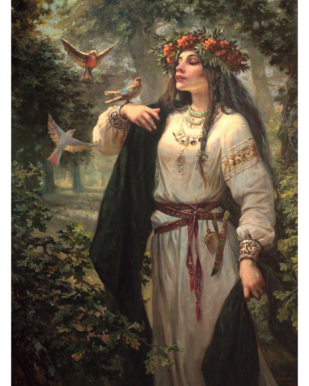 славянские боги и богини красивые картинки если
