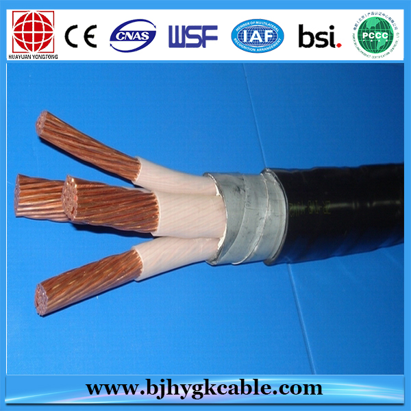 600 1000v 4 Core 3x185 1x95mm2 Copper Core Xlpe Pvc Insulated Electrical Power Electrical Cables Electricity Power Cable