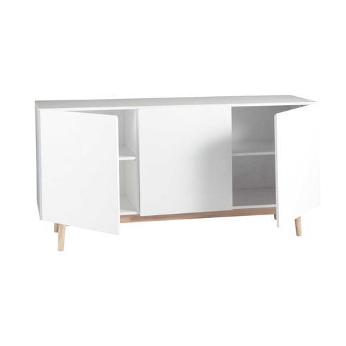 Buffet vintage blanc | Buffet and Credenza