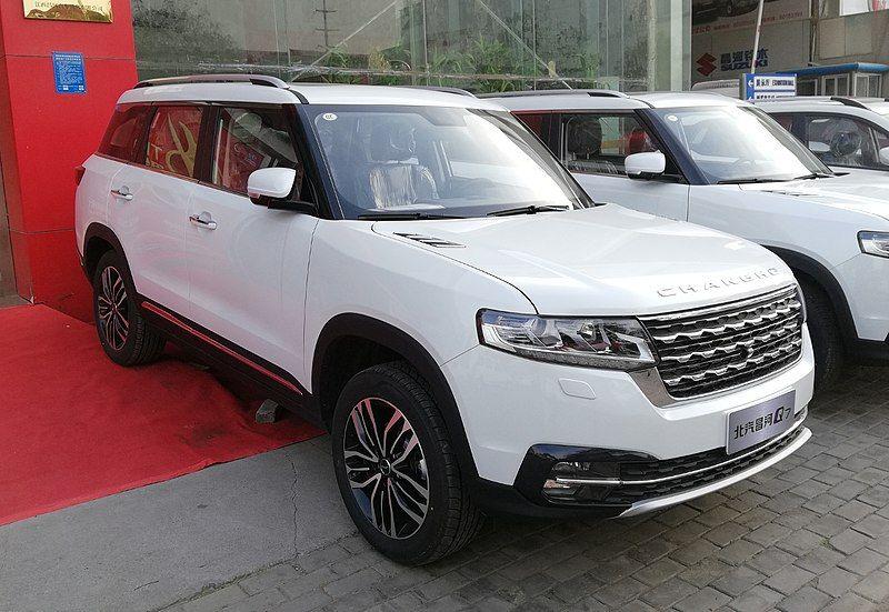 Changhe Q7 01 China 2018 03 20 Baic Group Wikipedia Cars