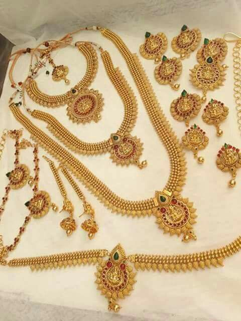 Bridal Set 1gm Jewellery Buy Online Neha S Jewellery 91 9703870603 Indian Bridal Jewelry Sets Bridal Gold Jewellery Designs Bridal Jewelry Collection