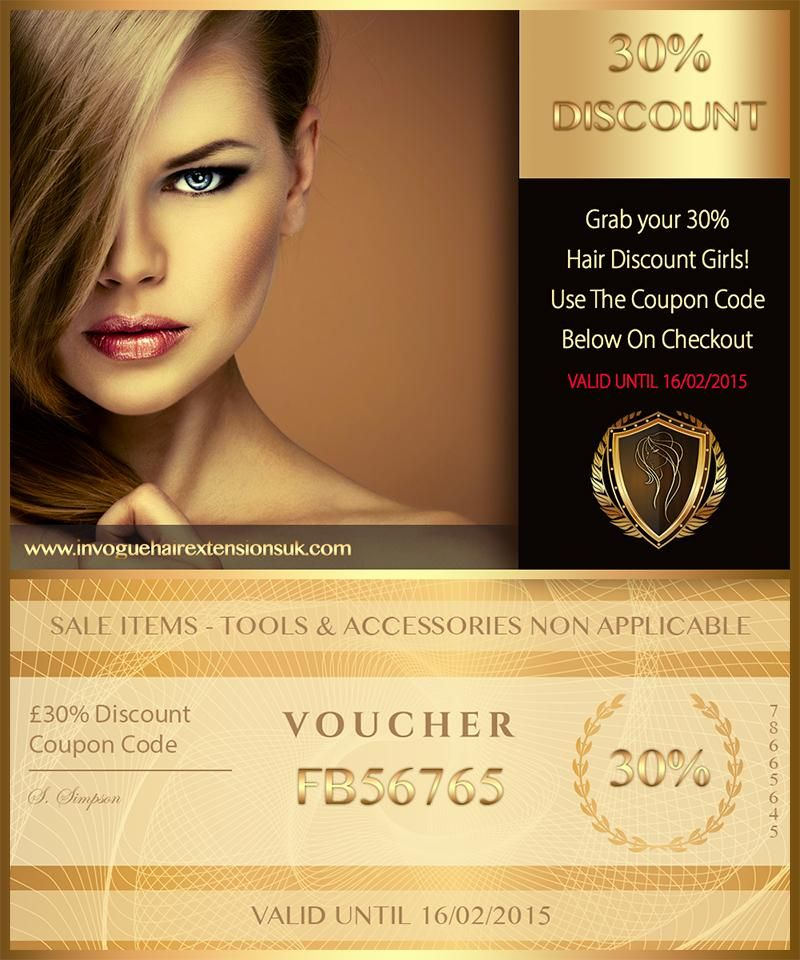 30 Discount Coupon Code Indian Remy Hair Extensions In Vogue