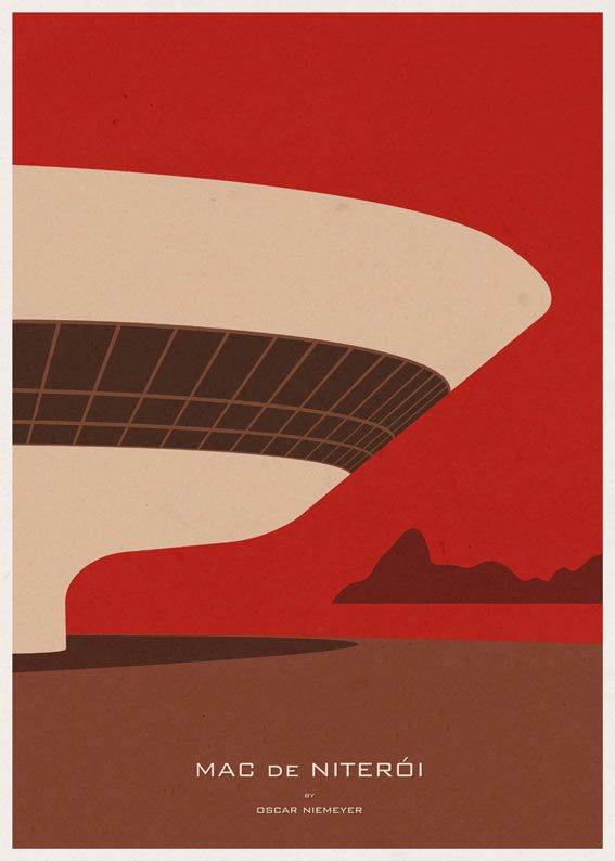 Modern Architecture Posters andre-chiote-arch-poster-4-mac | architecture posters, poster