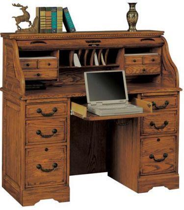48 Rolltop Desk Winners Only Heritage Oak Roll Top Desk At