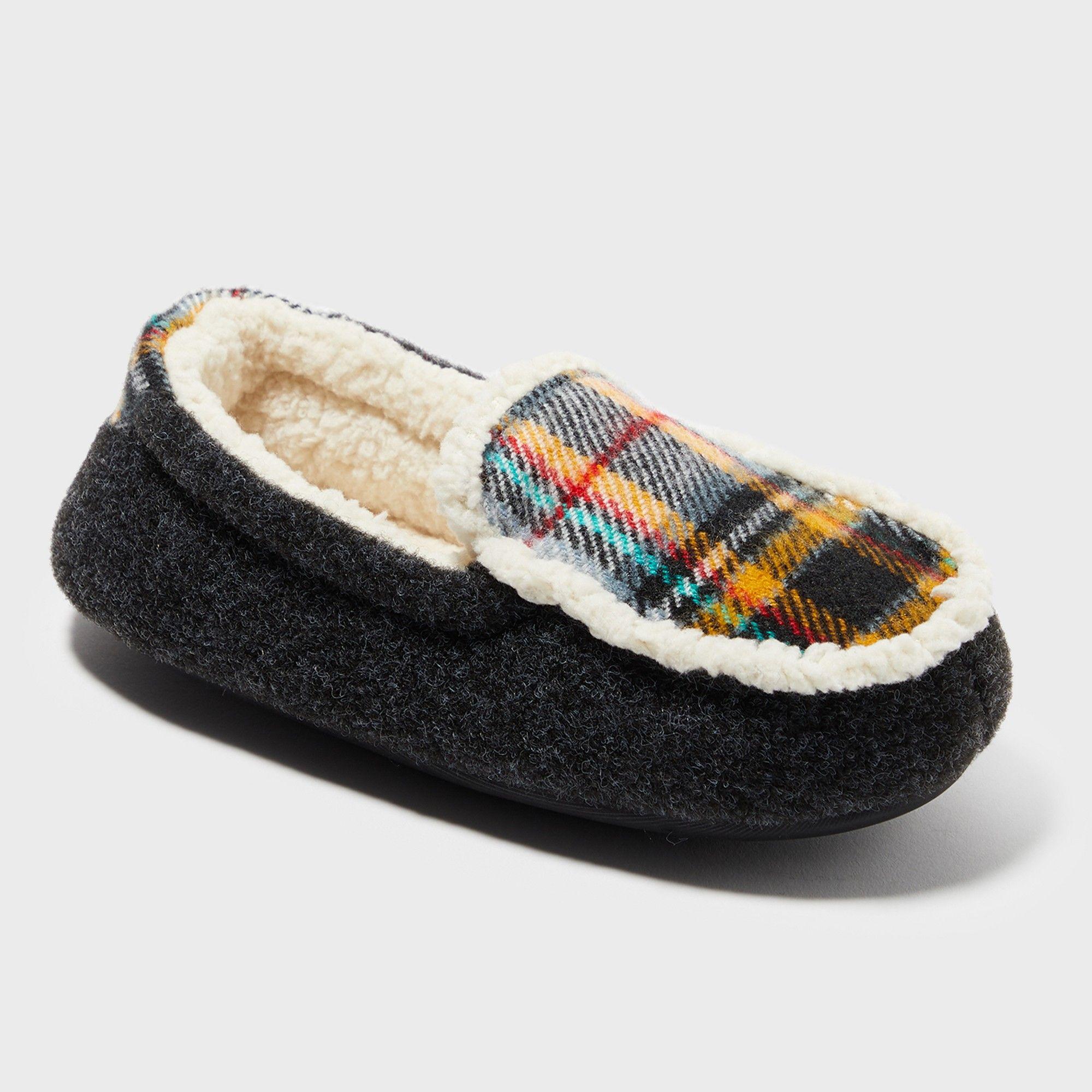 55615a6f6e94 Toddler Boys  Phillip Sherpa Lined Slipper - Cat   Jack™ Brown. Boys   Dearfoams Moccasin Slippers - Black 11-12