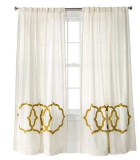 Wallace 52 X84 White Grommet Curtain Panel Reviews Crate And Barrel Grommet Curtains Curtains White Paneling