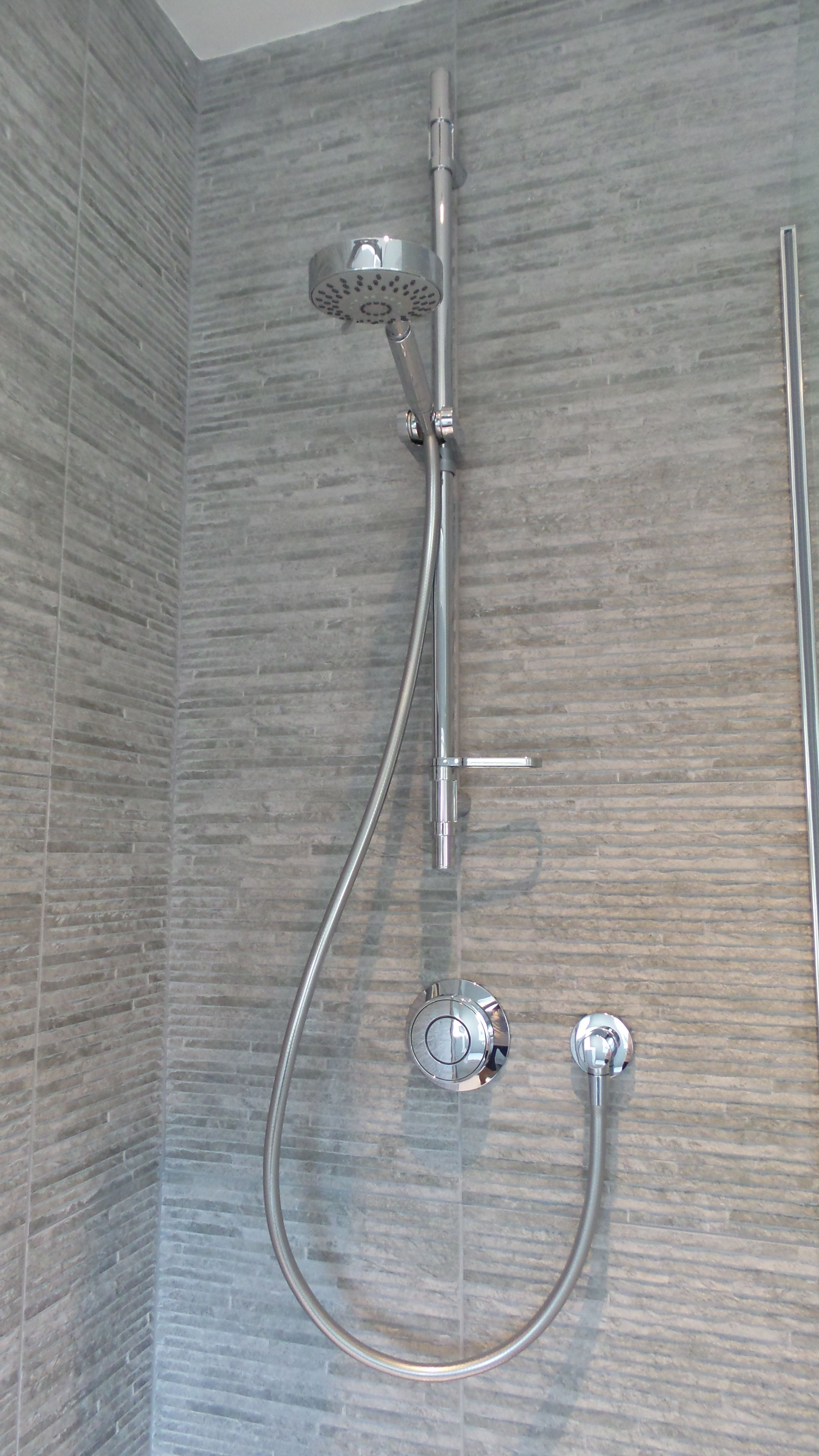 Aqualisa Rise Digital concealed shower installed by our specialist ...