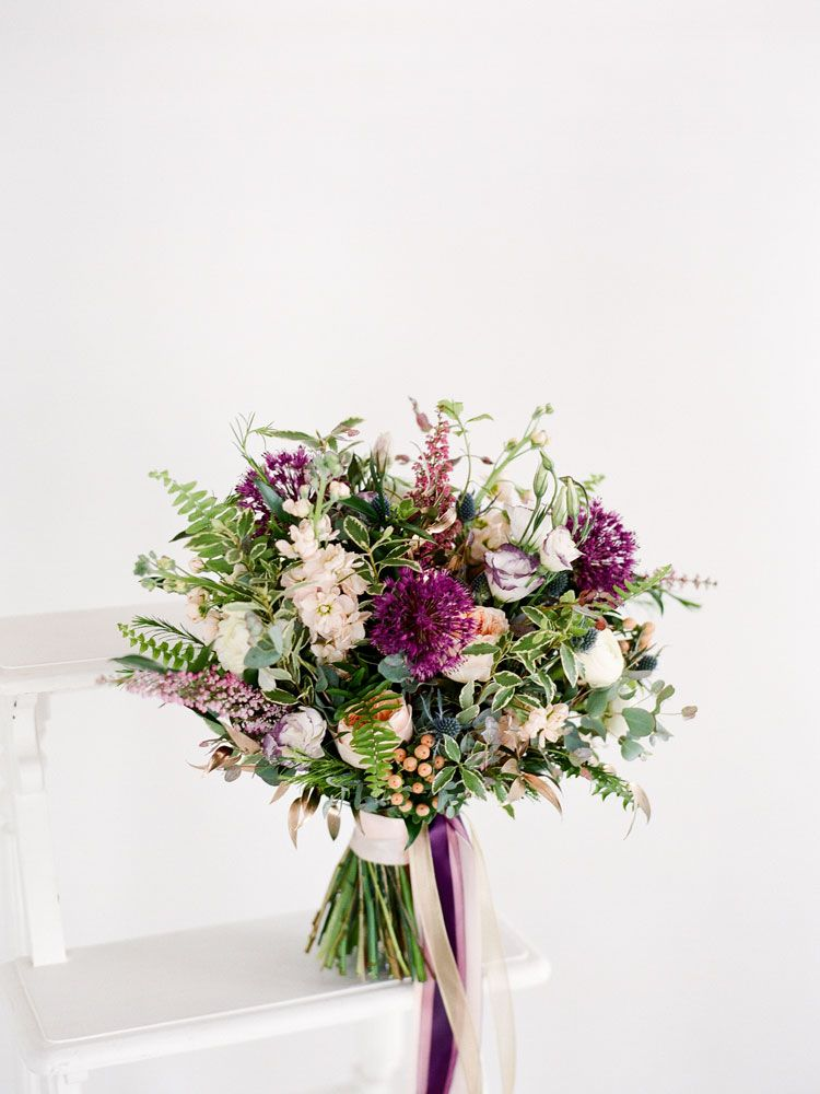 Canada\'s Most Beautiful Bouquets For 2015 | Sea holly, Garden roses ...