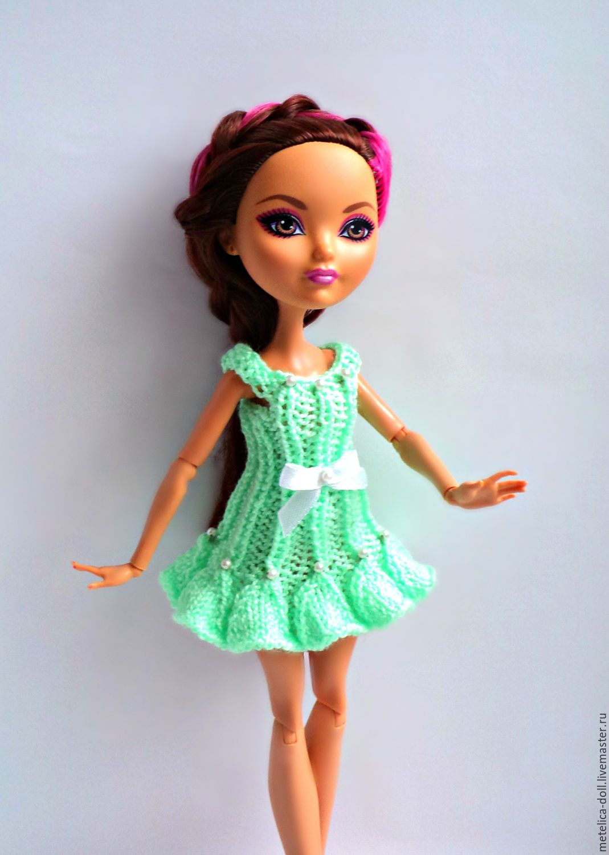 Платья для кукол эвер афтер хай своими руками
