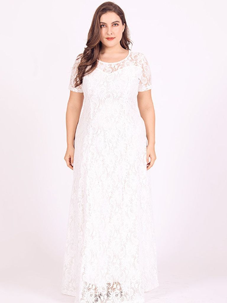 2e6613b344 Our plus size dresses feature a variety of formal   casual wear that  flatter all figures! The styles are trendy