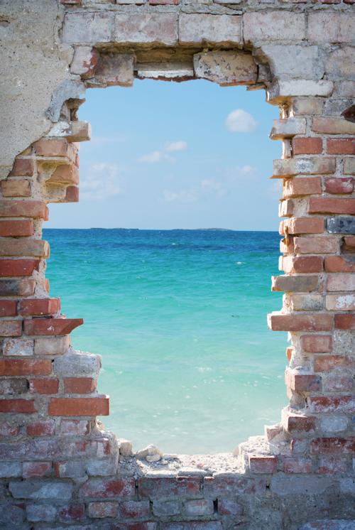 Fotomural muro vista al mar fotomuraldecorativo Murales vinilo para paredes paisajes