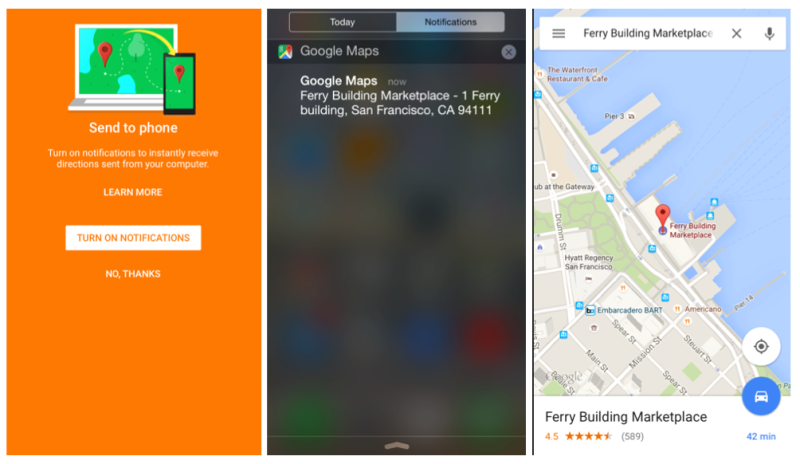 Send Places From Browser To The iPhone In Google Maps 4.7