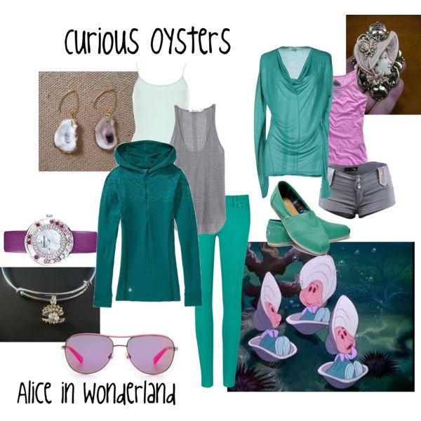Alice in Wonderland: Curious Oysters