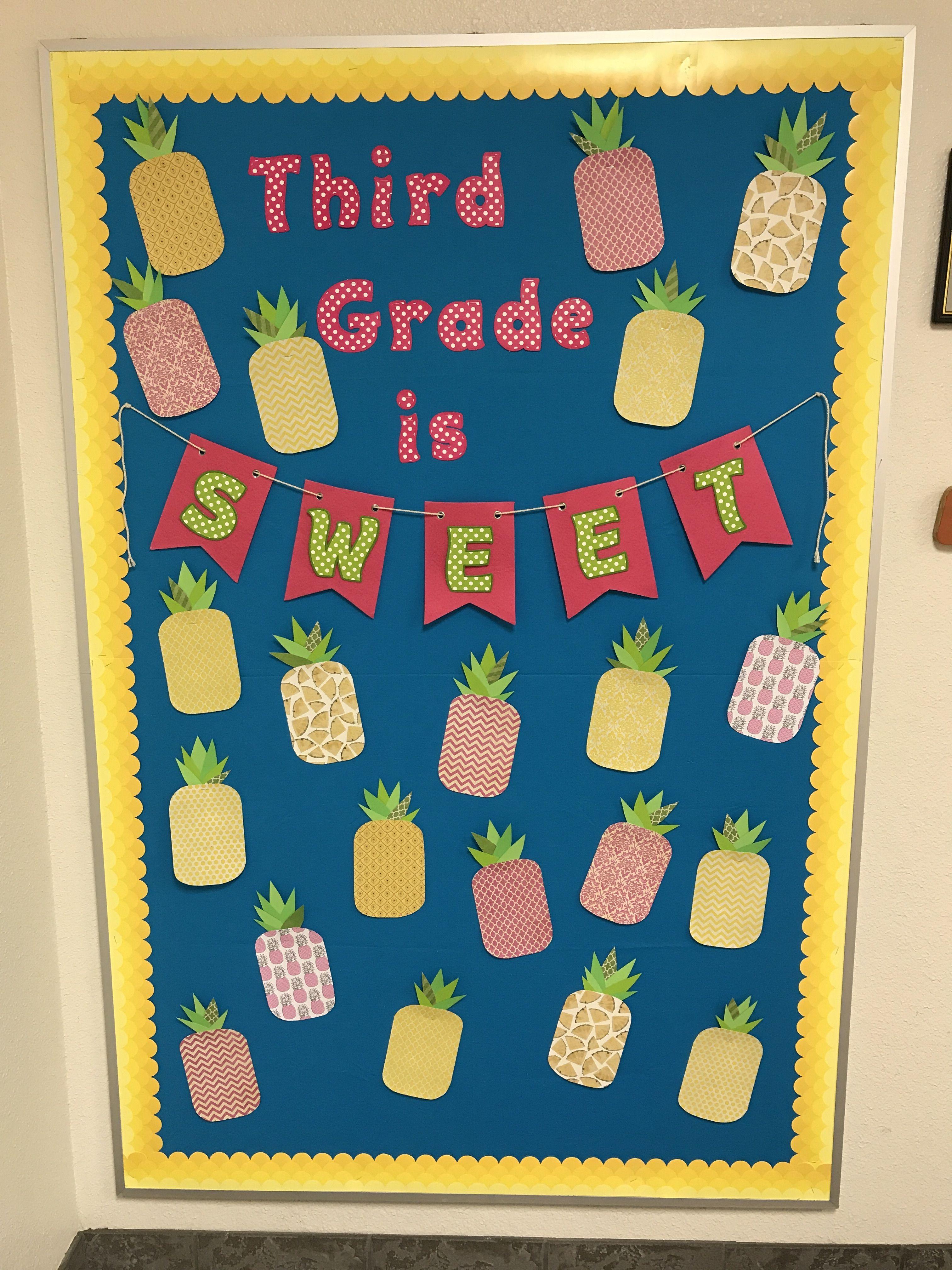 Third Grade Is Sweet Third Grade Back To School