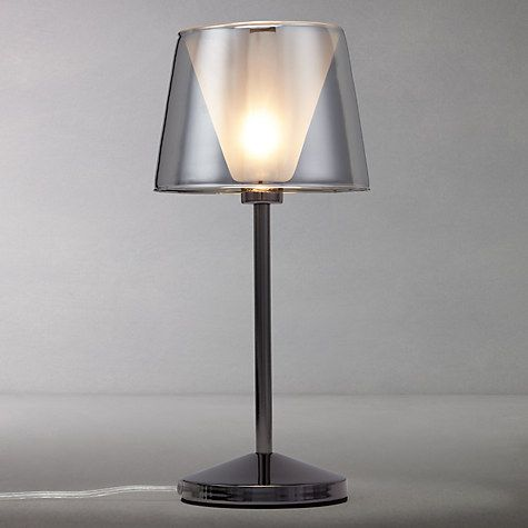 Buy john lewis tempest touch table lamp smoke online at johnlewis com